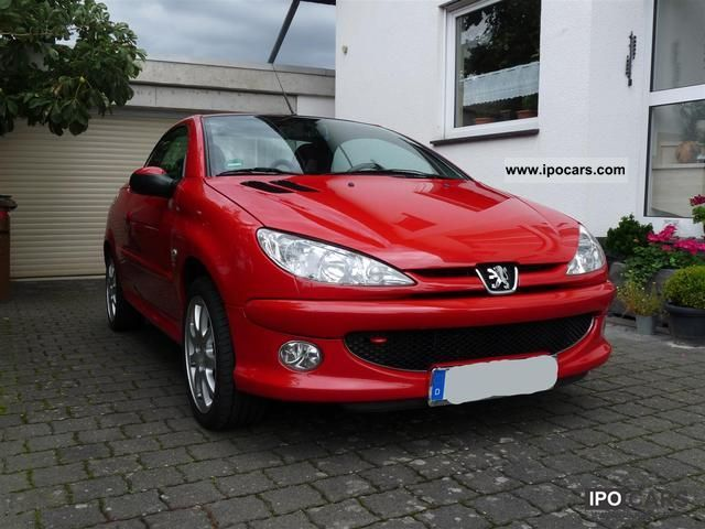 2005 peugeot 206 cc hdi fap 110 filou car photo and specs. Black Bedroom Furniture Sets. Home Design Ideas