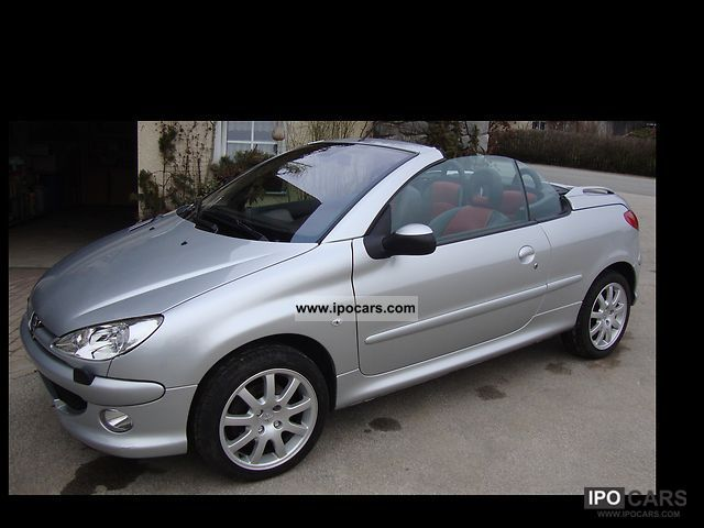 2005 peugeot 206 cc hdi fap 110 car photo and specs. Black Bedroom Furniture Sets. Home Design Ideas