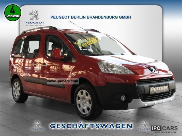 2012 Peugeot  Partner Tepee HDI FAP 90 CLIMATE Van / Minibus Demonstration Vehicle photo