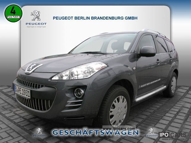 2012 Peugeot  4007 Platinum HDI 155 NAVIGATION Off-road Vehicle/Pickup Truck Demonstration Vehicle photo