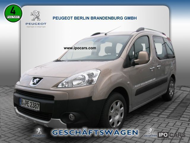 2012 Peugeot  Partner Tepee Tendance HDI 90 CLIMATE Estate Car Demonstration Vehicle photo