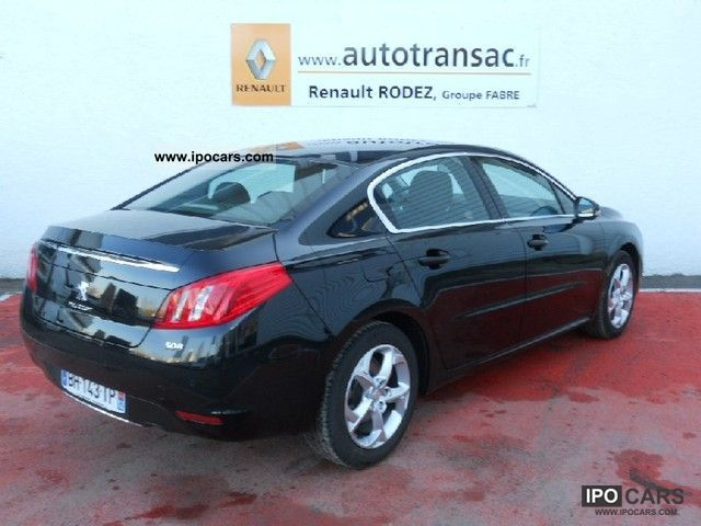 2011 peugeot 508 active 2 0 hdi140 fap car photo and specs. Black Bedroom Furniture Sets. Home Design Ideas