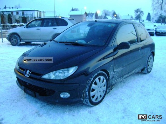 2000 peugeot 206 135 s 16 gti car photo and specs. Black Bedroom Furniture Sets. Home Design Ideas