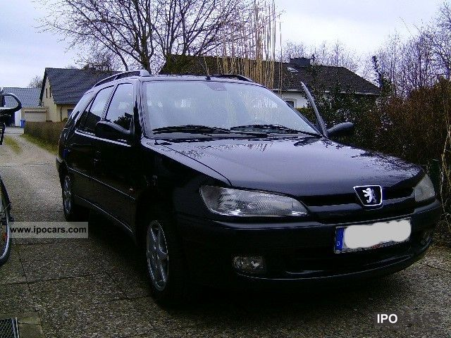 1998 peugeot 306 break xr car photo and specs. Black Bedroom Furniture Sets. Home Design Ideas
