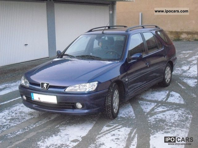 1999 peugeot 306 break car photo and specs. Black Bedroom Furniture Sets. Home Design Ideas