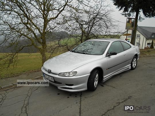 1997 peugeot 406 coupe 2 0 16v premium car photo and specs. Black Bedroom Furniture Sets. Home Design Ideas