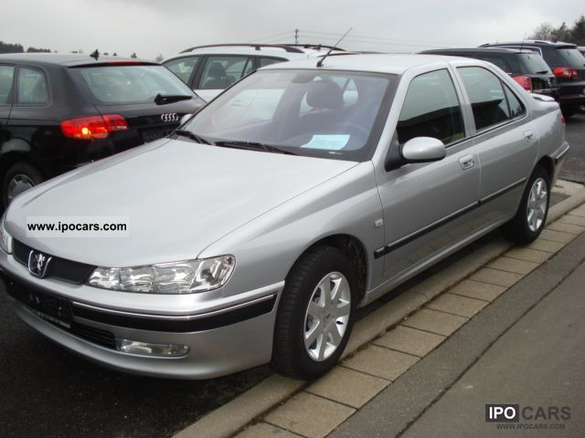 2002 Peugeot  Tendance 406, only 84 thousand kilometers, air, ZV, FH, aluminum Limousine Used vehicle photo