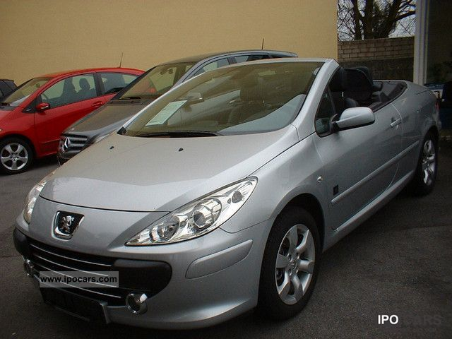 2008 Peugeot  307 CC 140 * 8 JBL tires automatic air conditioning times Cabrio / roadster Used vehicle photo