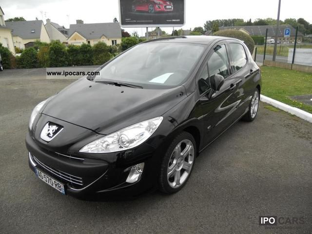 2009 peugeot 308 gti 200cv 1 6 thp 5 portes car photo and specs. Black Bedroom Furniture Sets. Home Design Ideas