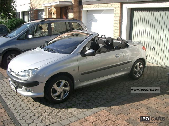 2004 peugeot 206 cc 110 car photo and specs. Black Bedroom Furniture Sets. Home Design Ideas