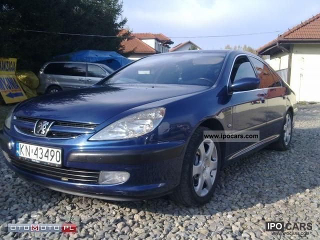 2002 Peugeot  607 3.0 + LPG Limousine Used vehicle photo
