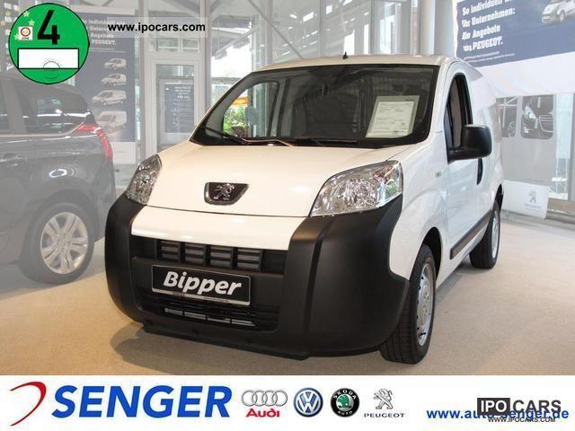 2011 Peugeot  Bipper 1.3 HDI FAP Avantage Sortimo 75 Van / Minibus New vehicle photo