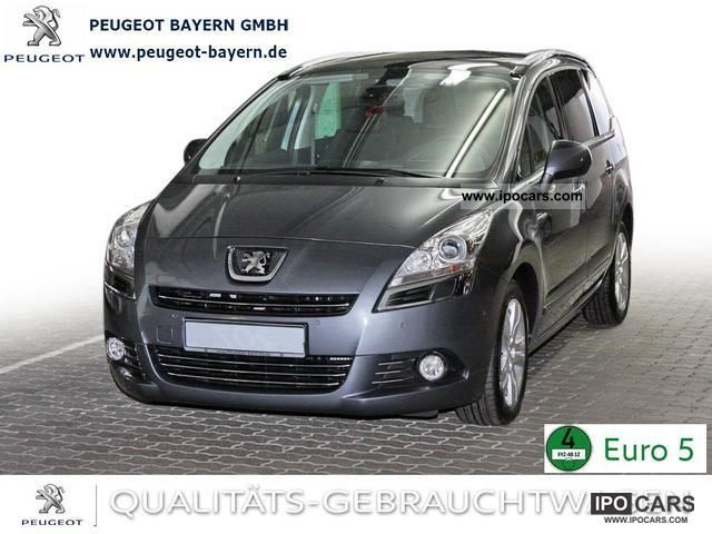 2011 peugeot 5008 allure hdi 150 car photo and specs. Black Bedroom Furniture Sets. Home Design Ideas
