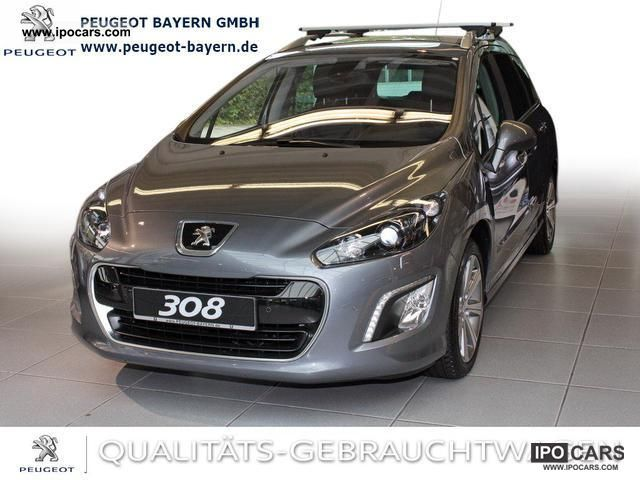 2011 peugeot 308 sw hdi allure 165 navi xenon bluetooth car photo and specs. Black Bedroom Furniture Sets. Home Design Ideas
