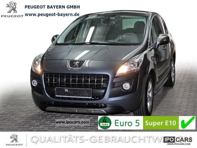 2011 Peugeot  Platinum 3008 155 * THP Navi Xenon PDC Head-Up * Van / Minibus Demonstration Vehicle photo