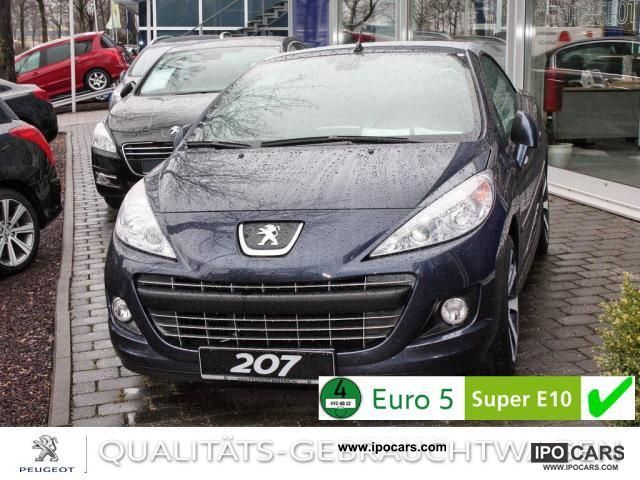 2012 Peugeot  Limited Edition 207 CC 155 THP * Leather * Air PDC Cabrio / roadster Demonstration Vehicle photo