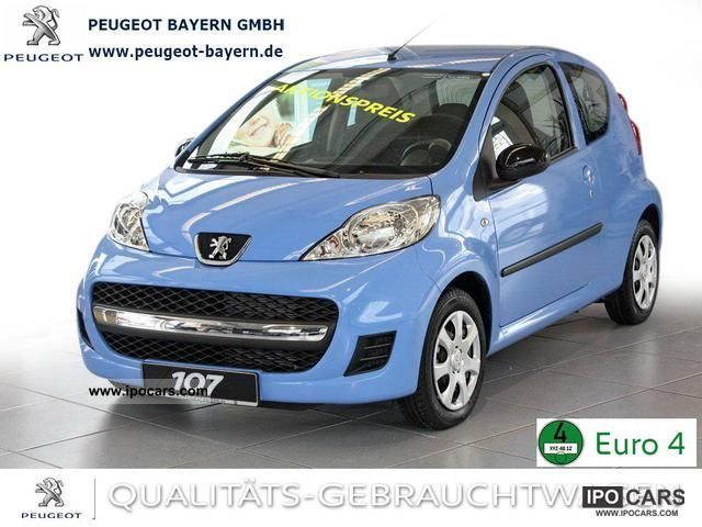 2012 Peugeot  107 Blue Edition * Blue * Air-foiled Small Car Demonstration Vehicle photo