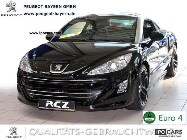 2011 Peugeot  RCZ HDi 165 * Leather Navi Xenon Bluetooth * Sports car/Coupe Demonstration Vehicle photo