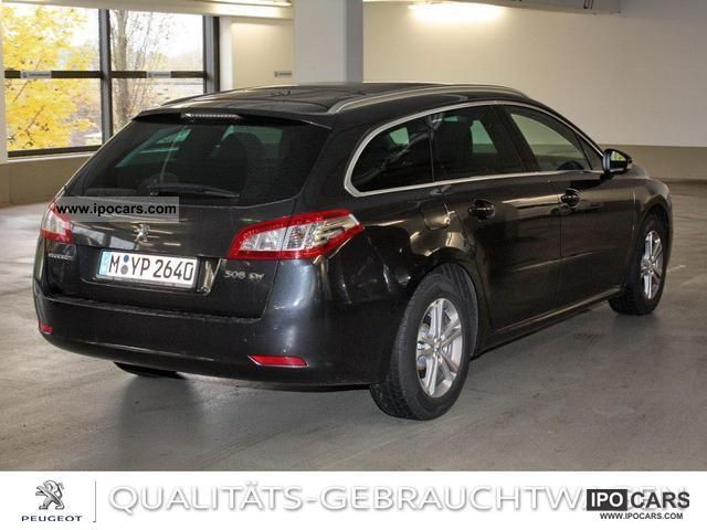 2011 peugeot 508 sw hdi 140 active car photo and specs. Black Bedroom Furniture Sets. Home Design Ideas