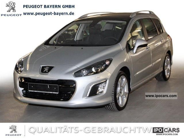 2012 peugeot 308 sw hdi allure leather navi xenon 150 pdc car photo and specs. Black Bedroom Furniture Sets. Home Design Ideas