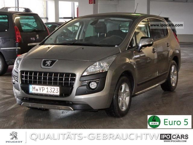 2012 Peugeot 3008 Allure Hdi 150 Navi Panoramic Roof