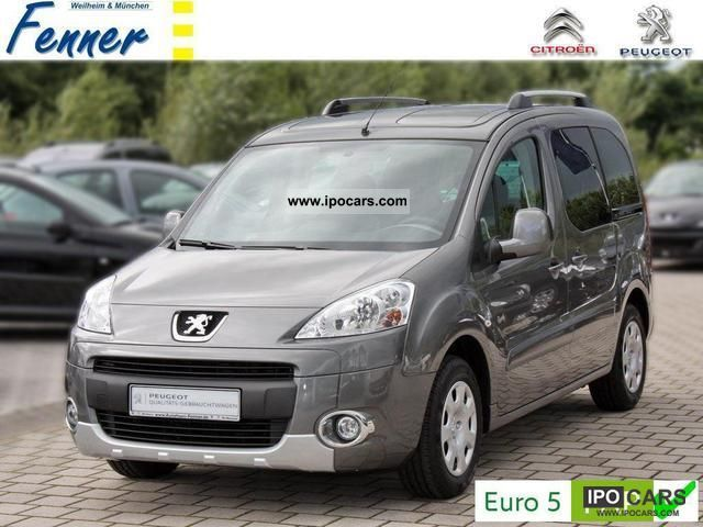 2011 Peugeot  Partner Tepee HDi 112 CLIMATE Family / PDC + NOW + Van / Minibus New vehicle photo