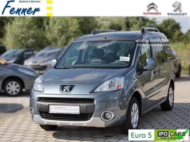 2012 Peugeot  Partner Tepee HDi 112 CLIMATE Family / PDC + NOW + Van / Minibus Demonstration Vehicle photo