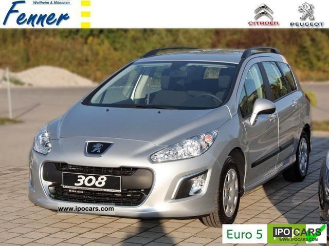 2011 peugeot 308 sw hdi 112 access e start stop new air cd car photo and specs. Black Bedroom Furniture Sets. Home Design Ideas