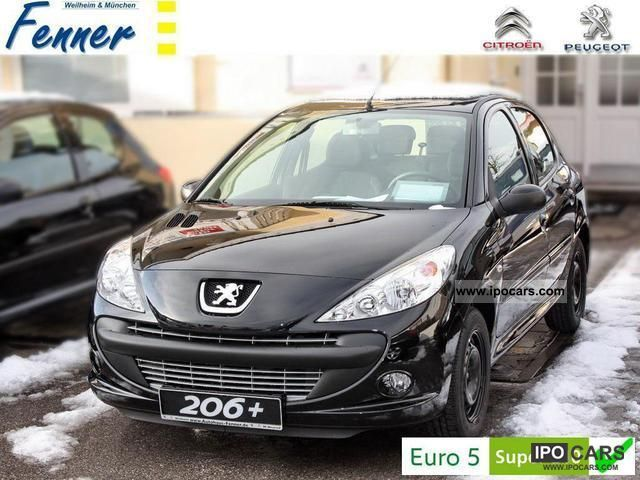 2012 Peugeot  206 + 75 5 T-NEW! ESP / CD / AIR! + + + + ACTION Limousine Demonstration Vehicle photo