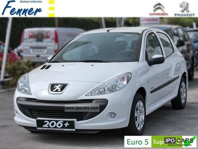 2012 Peugeot  206 + 75 Urban Move 5-T NEW! ESP / CD / AIR! Limousine Demonstration Vehicle photo