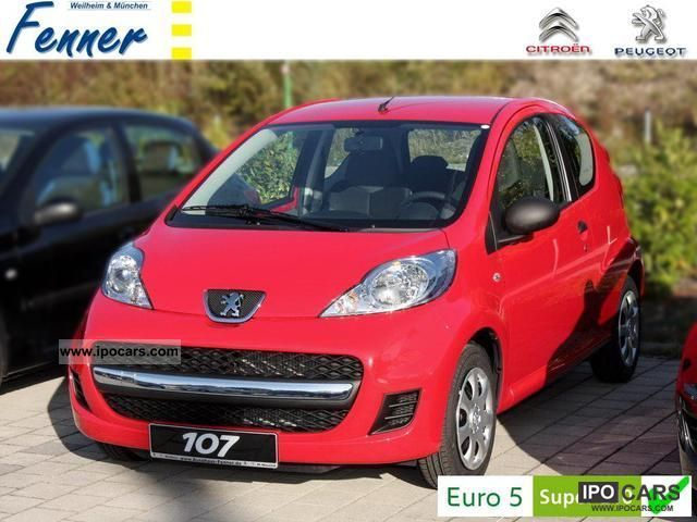 2012 peugeot 107 petit filou 70 3 t new esp action car photo and specs. Black Bedroom Furniture Sets. Home Design Ideas