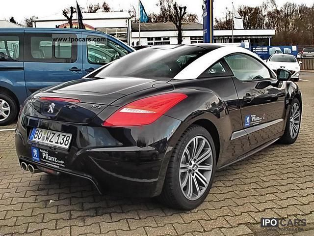 2012 peugeot rcz 2 0 hdi fap 165 basis nappa leather bi xenon car photo and specs. Black Bedroom Furniture Sets. Home Design Ideas