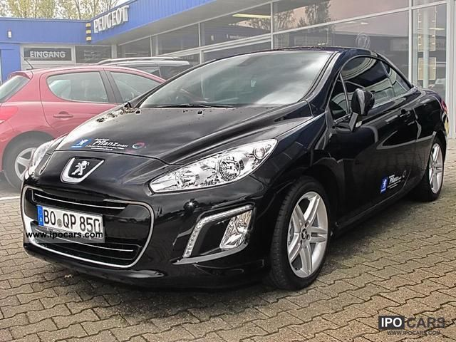 2011 peugeot 308 cc thp 155 automatic climate control active pdc car photo and specs. Black Bedroom Furniture Sets. Home Design Ideas
