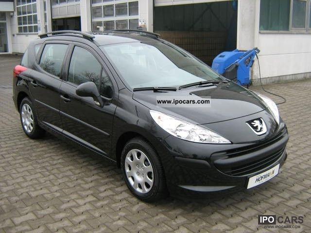 2008 peugeot 207 sw 95 rogue car photo and specs. Black Bedroom Furniture Sets. Home Design Ideas