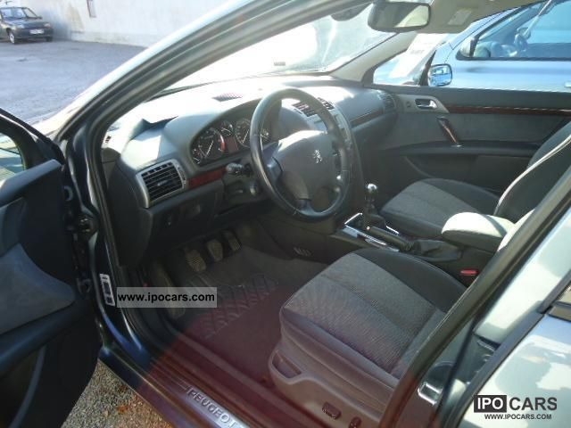 2005 peugeot 407 2 0 hdi 136 cv car photo and specs. Black Bedroom Furniture Sets. Home Design Ideas