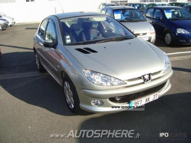 2006 peugeot 206 1 6 hdi trendy 5p car photo and specs. Black Bedroom Furniture Sets. Home Design Ideas