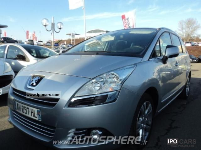 2010 peugeot 5008 2 0 hdi premium pack 7pl car photo and specs. Black Bedroom Furniture Sets. Home Design Ideas