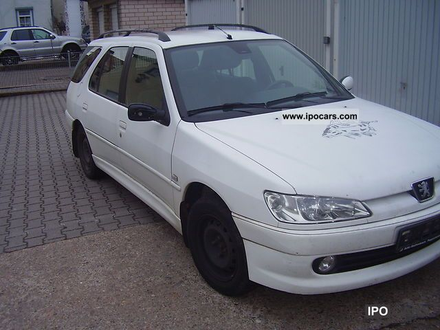 2001 peugeot 306 break hdi xs station wagon climate euro3 car photo and specs. Black Bedroom Furniture Sets. Home Design Ideas