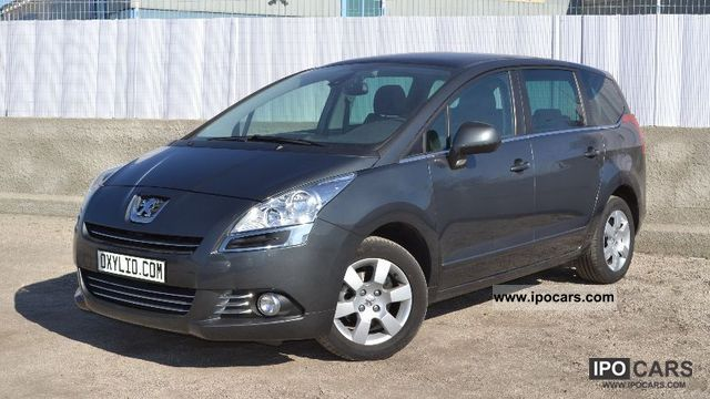 2011 peugeot 5008 1 6 hdi 112 premium 7 pls gps radar car photo and specs. Black Bedroom Furniture Sets. Home Design Ideas