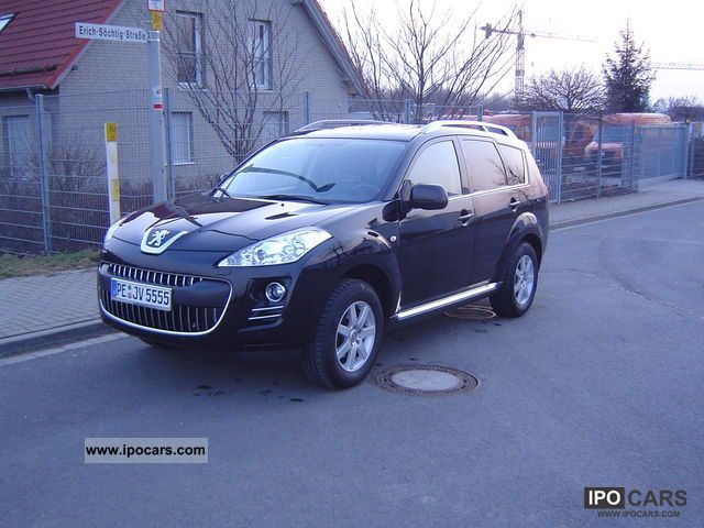 2009 Peugeot  4007 HDI FAP 5-seater air-Navi Xenon Platinum Off-road Vehicle/Pickup Truck Used vehicle photo