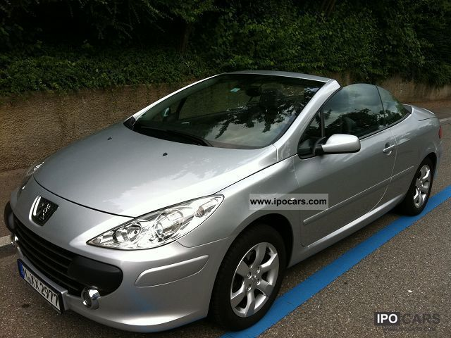 2007 Peugeot  307 CC 140 Tendance Cabrio / roadster Used vehicle photo