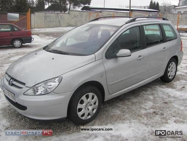 2003 Peugeot  307 Estate Car Used vehicle photo