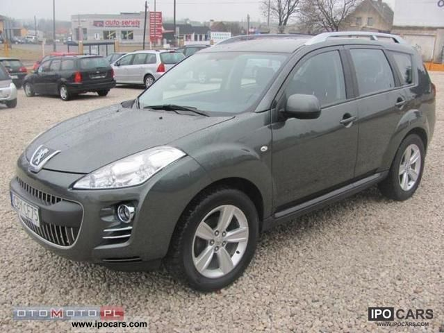 2008 peugeot 4007 outlander 4x4 super stan car photo and specs. Black Bedroom Furniture Sets. Home Design Ideas