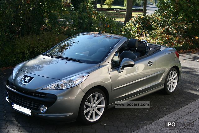 2009 peugeot 207 cc roland garros 120 vti car photo and specs. Black Bedroom Furniture Sets. Home Design Ideas
