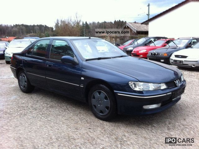 2002 Peugeot 406 Hdi Car Photo And Specs