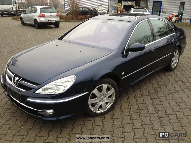 2005 peugeot 607 v6 hdi 205 platinum car photo and specs. Black Bedroom Furniture Sets. Home Design Ideas