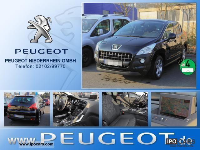 2011 Peugeot  3008 2.0 HDi 150 Active Navigation Heated seats Off-road Vehicle/Pickup Truck Demonstration Vehicle photo