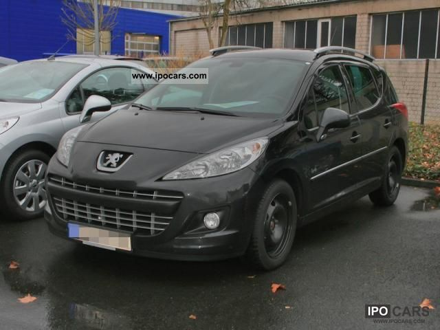 2011 peugeot 207 sw 1 6 16v hdi 90 fap family roof glass. Black Bedroom Furniture Sets. Home Design Ideas