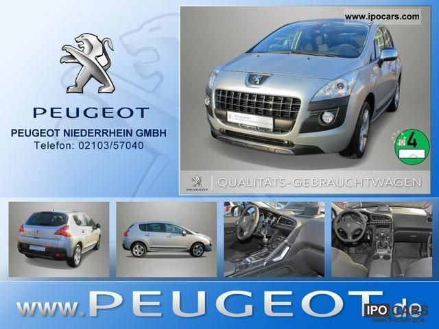 2011 Peugeot  3008 1.6 THP 155 Air Navigation Parktronic Off-road Vehicle/Pickup Truck Pre-Registration photo