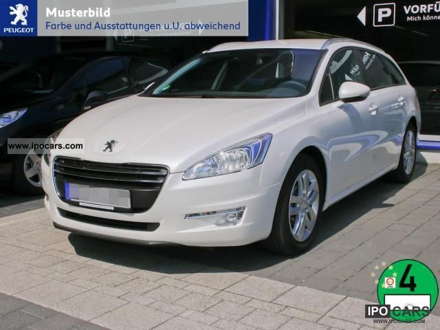 2012 Peugeot  508 SW 2.2 HDi 205 GT Auto Estate Car Demonstration Vehicle photo